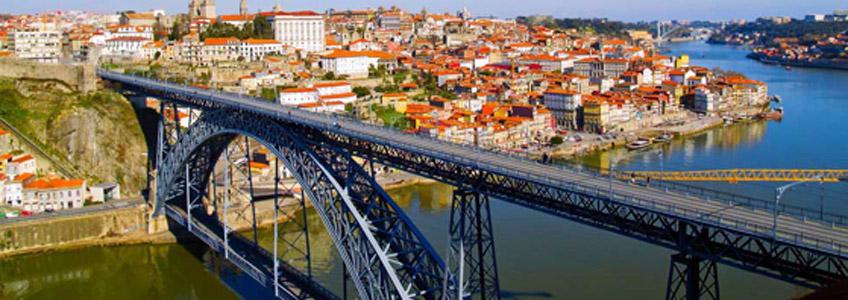 Taller de Gustave Eiffel. Puente de Luis I, Oporto, 1880