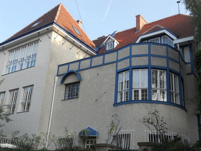 Hoffmann. Casa doble Moser y Moll, 1900-1901