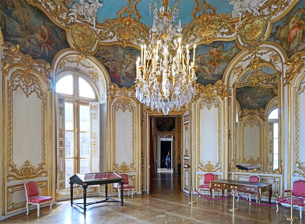 Salón oval del Hôtel Soubise, 1735
