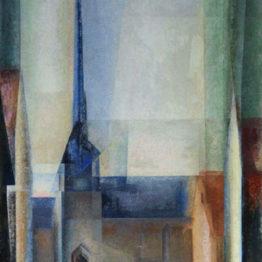 Lyonel Feininger. Gelmeroda IX, 1926. Museum Folkwang, Essen