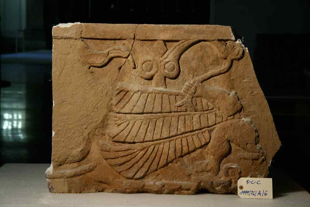 Relieve de la Necrópolis de Pozo Moro, s. VI a.C. Museo Arqueológico Nacional