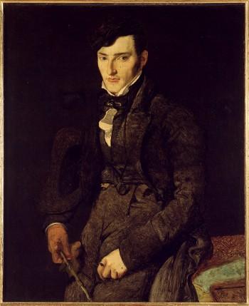 Pintores del Romanticismo. Ingres. Retrato de Jean François Gilbert, 1804-1805