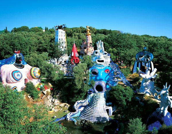 Niki de Saint Phalle. Jardín del Tarot, 1978-1998