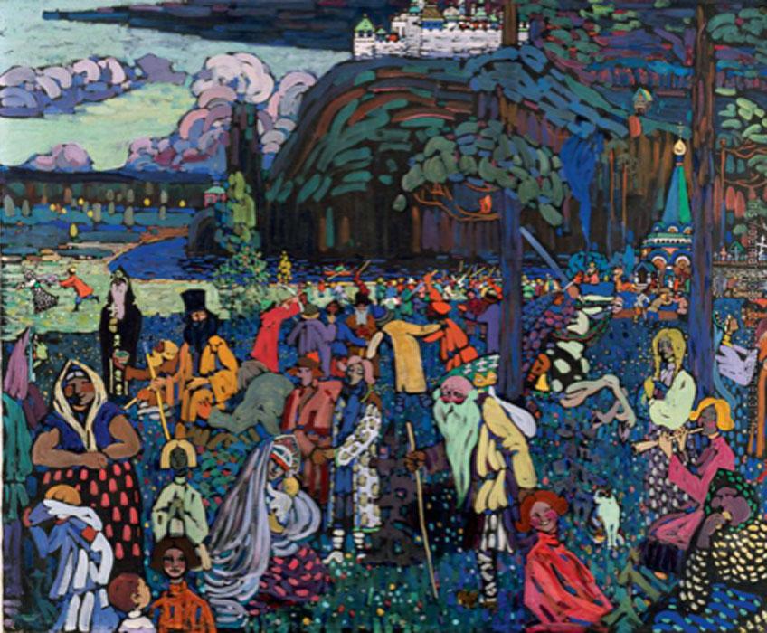 Kandinsky. La vida multicolor, 1907. Städtische Galerie im Lenbachhaus, Múnich