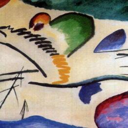 Kandinsky. Tema lírico, 1911. Museum Boijmans Van Beuningen