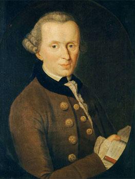 Johann Gottlieb Becker. Immanuel Kant