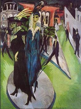 Kirchner. Potsdamer Platz, 1914. Neue Nationalgalerie, Berlin