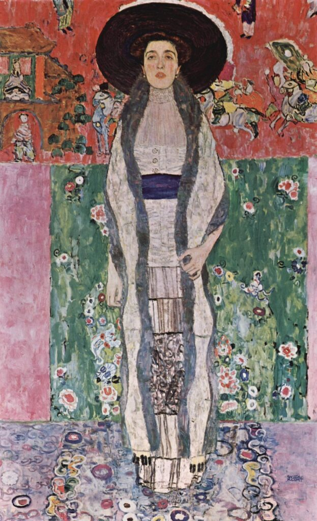 Gustav Klimt. Retrato de Adele Bloch-Bauer II, 1012. MoMA