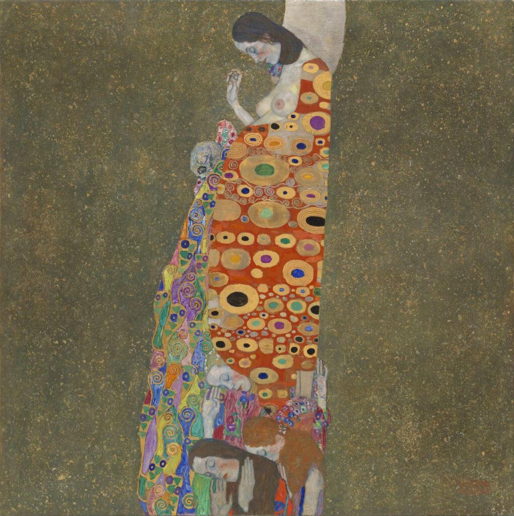 Gustav Klimt. La esperanza II, 1907-1908. MoMA