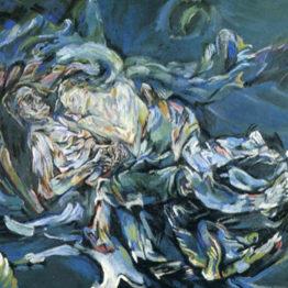 Oskar Kokoschka. La novia del viento, 1914. Kunstmuseum Basel