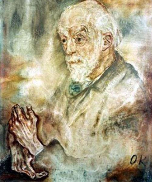 Oskar Kokoschka. August Forel, 1910. Galería de Arte de Mannheim