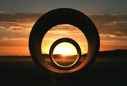 Nancy Holt. Sun Tunnels, 1973-1976
