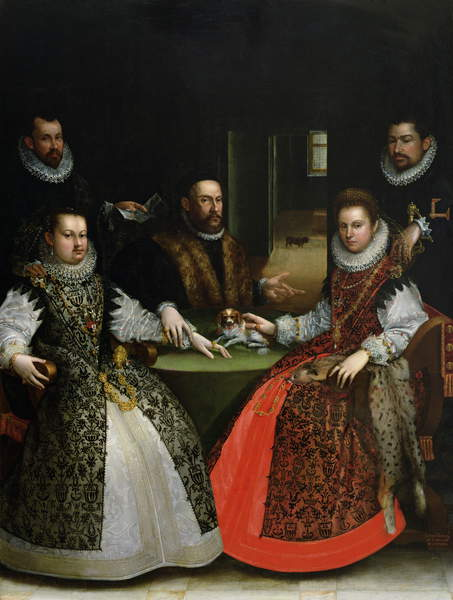 Lavinia Fontana. Familia Gozzadini. Pinacoteca Nazionale di Bologna