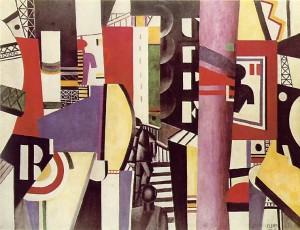Fernand Léger. La ciudad, 1919. Philadelphia Museum of Art