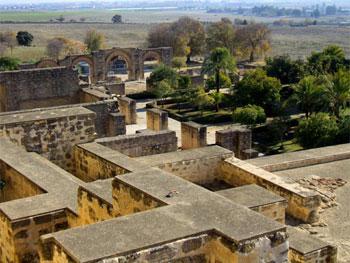 Vista general de Madinat-al-Zahra