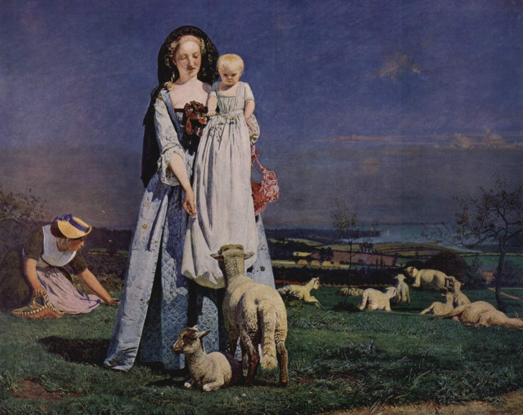 Madox Brown. La oveja, 1851-1859