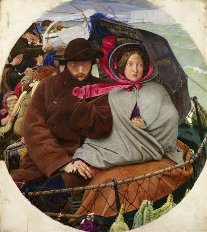 Madox Brown. Lo último de Inglaterra, 1852-1855