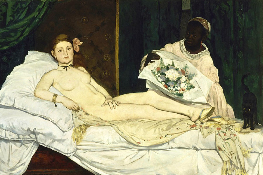 Manet. Olympia, 1863. Museo de Orsay