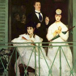 Manet. El balcón, 1868-1869. Museo de Orsay