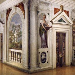 Veronés. Frescos de Villa Barbaro, Maser, hacia 1560