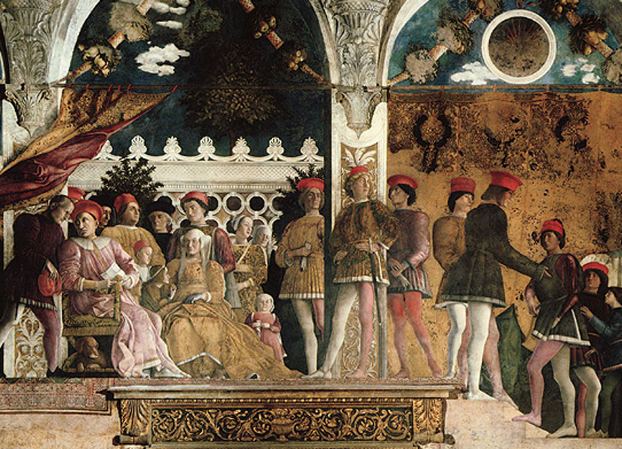 Mantegna. Cámara de los esposos, 1471-1494