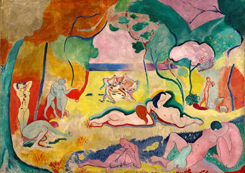Matisse. Alegría de vivir, 1905-1906. Barnes Foundation