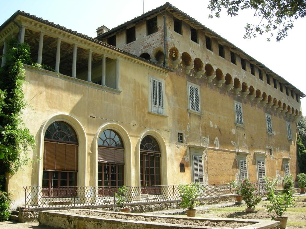 Villa Medici en Careggi, s XV