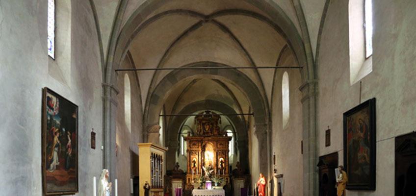 Michelozzo. Interior de San Francesco al Bosco