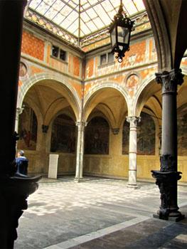 Claustro de la iglesia de la Iglesia de la Santa Annunziata, Florencia