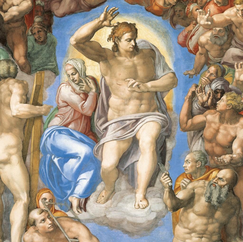 Miguel Ángel Buonarroti. El Juicio Final, 1508-1512. Capilla Sixtina