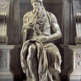 Miguel Ángel. Moisés, 1513-1515. San Pietro in Vincoli