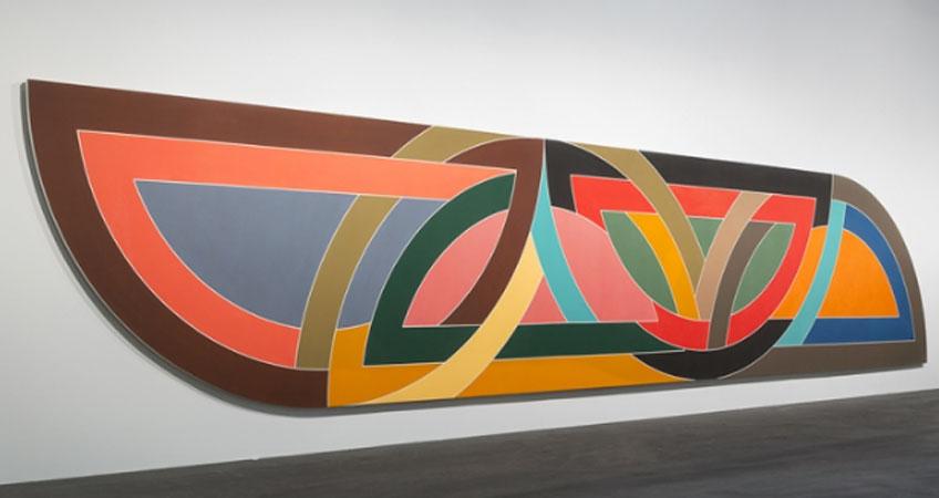 Frank Stella. Damascus Gate (Stretch Variation I), 1970