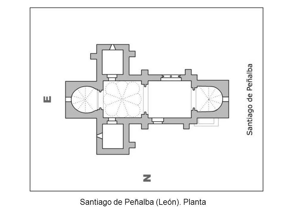 Santiago de Peñalba. Planta