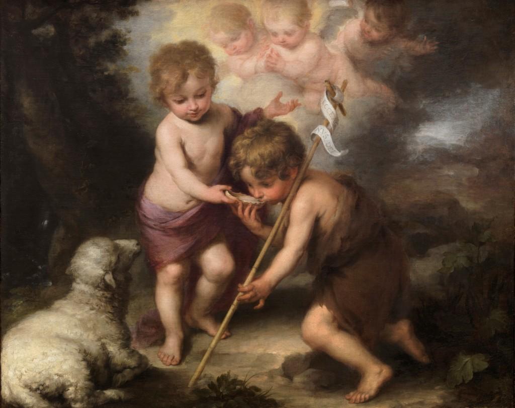 Murillo. Los niños de la Concha, hacia 1670. Museo Nacional del Prado