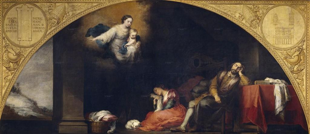 Murillo. El sueño del patricio, 1665. Museo Nacional del Prado