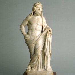 Escultura del dios Saturno. Ríoseco de Soria, siglo I