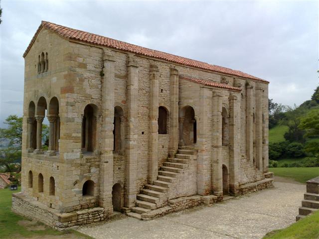 Santa María del Naranco, Asturias