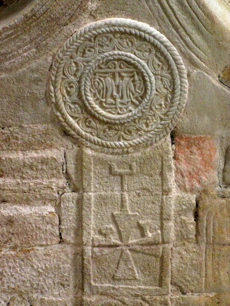 Santa María del Naranco. Decoración interior