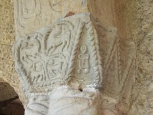 Santa María del Naranco. Capitel