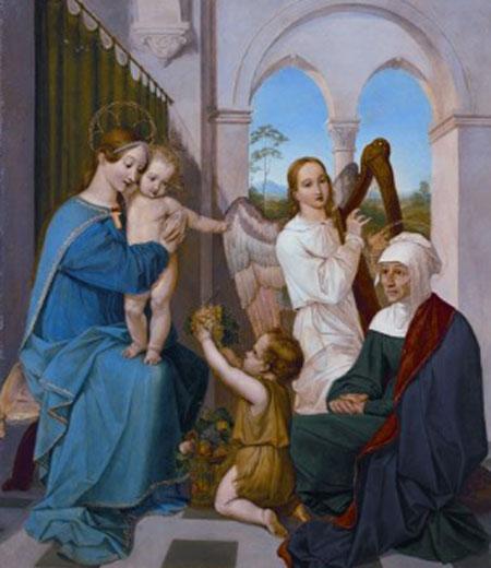 Peter von Cornelius, Sagrada Familia, 1809-1811