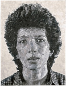 Chuck Close. Phyllis/Collage, 1983-1984. San Francisco Museum of Modern Art