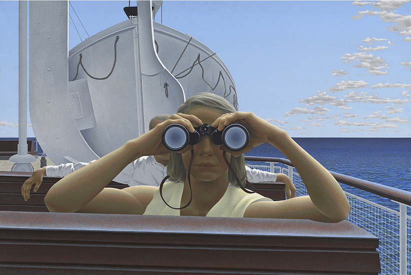 Alex Colville. To Prince Edward Island, 1965
