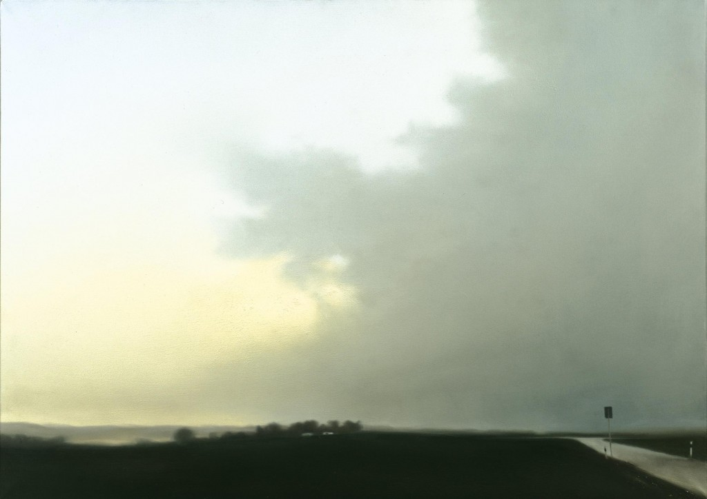 Gerhard Richter. Paisaje cerca de Hubbelrath, 1969