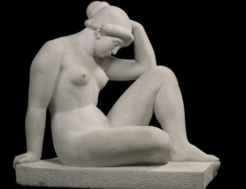 Aristide Maillol. El Mediterráneo, 1923