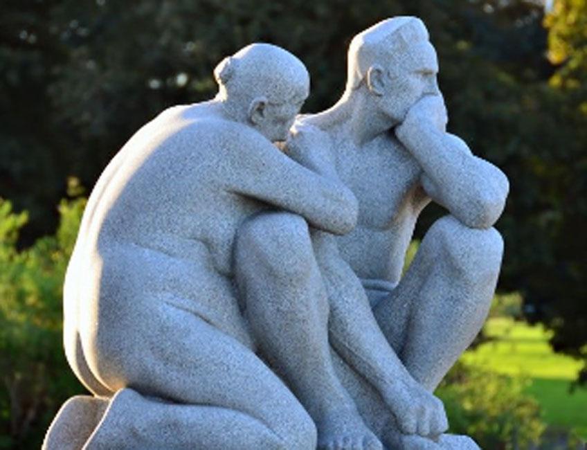 Esculturas de Gustav Vigeland en el Parque de Frogner, Oslo