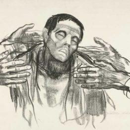 Käthe Kollwitz. Help Russia (Helft Russland), 1921. MoMA