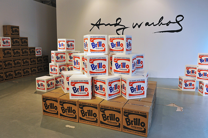 Andy Warhol. Brillo Box (Soap Pads), 1964