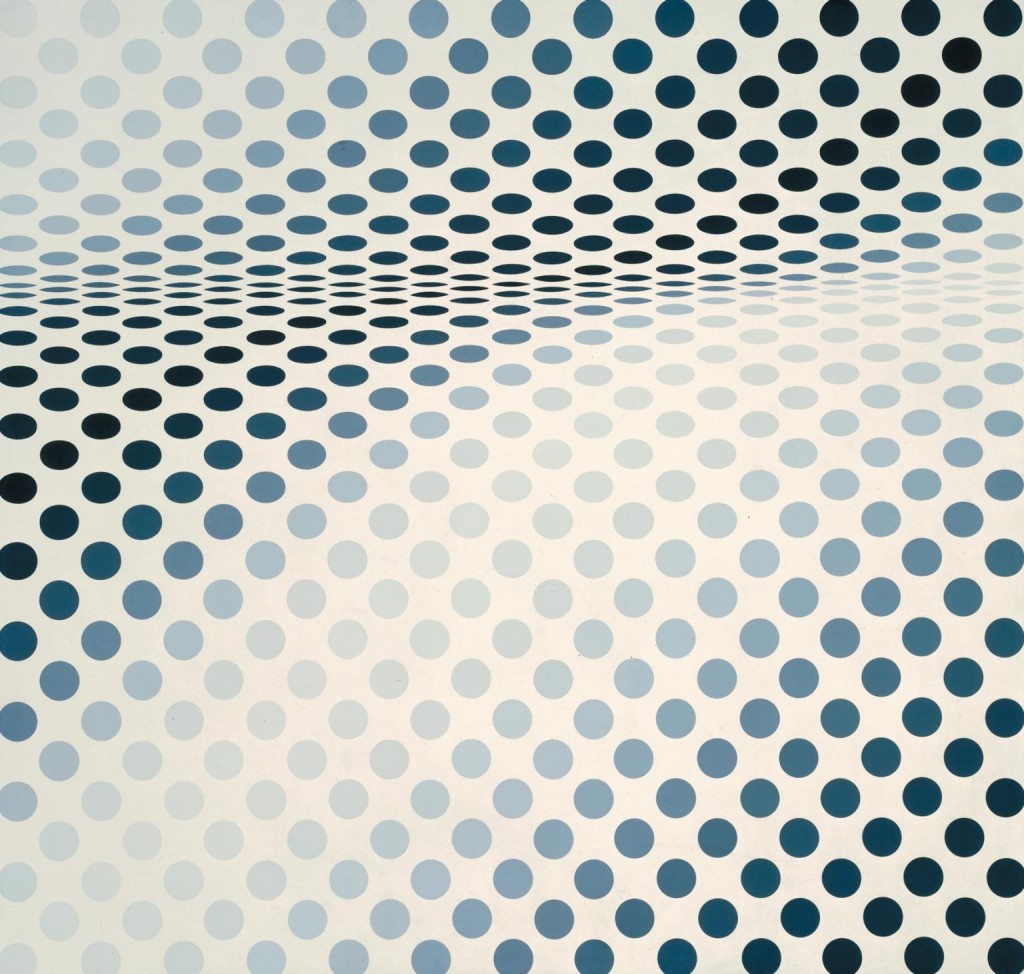 Bridget Riley. Hesitate, 1964