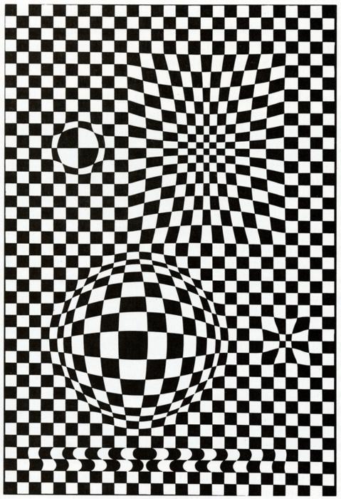 Víctor Vasarely. Vega, 1957