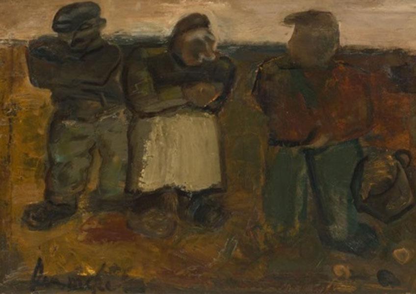 Permeke. Los recolectores de patatas, 1932